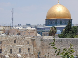 Beautiful Jerusalem. We did not go to the dome as protests were expected that day